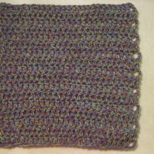 Quick and Simple Dishcloth