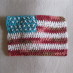 USA Flag Dishcloth