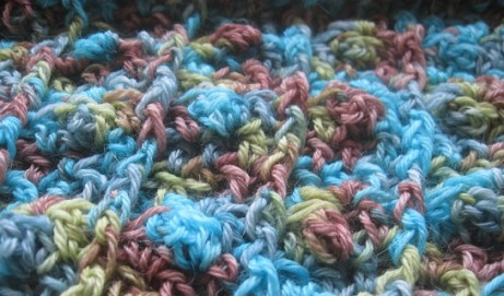 Raindrops and Rosebuds Cowl Pattern